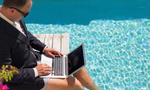 70% российских предпринимателей работают в отпуске